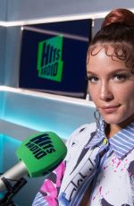 HALSEY at Hits Radio in London 11/07/2019