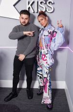 HALSEY at Kiss FM Radio in London 11/07/2019