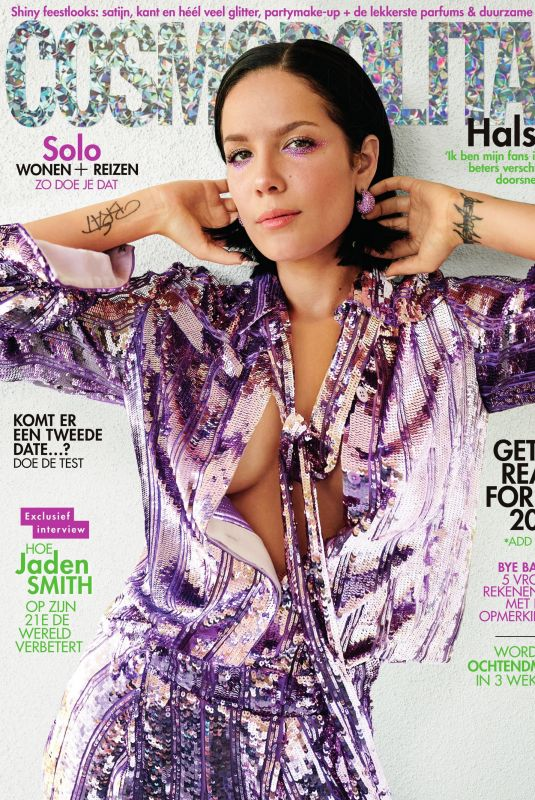 HALSEY in Cosmopolitan Magazine, Netherlands December 2019