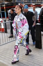 HALSEY Leaves BBC Live Lounge in London 11/07/2019