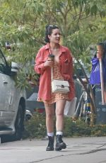 HALSEY Out Shopping in Studio City 10/29/2019