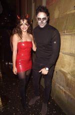 HANNA MIRAFTAB at Plt Halloween Party in Manchester 10/31/2019