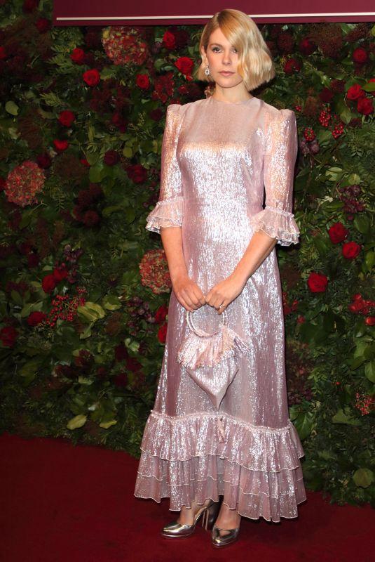 HANNAH ARTERTON at 65th Evening Standard Theatre Awards in London 11/24/2019
