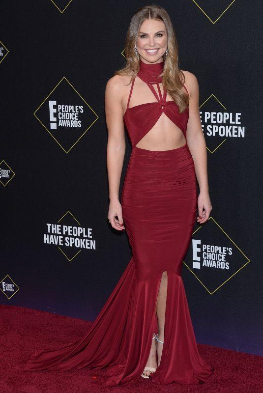 HANNAH BROWN at People's Choice Awards 2019 in Santa Monica 11/10/2019