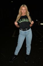 HARLEY BRASH Out for Dinner at Sheesh in Essex 11/02/2019