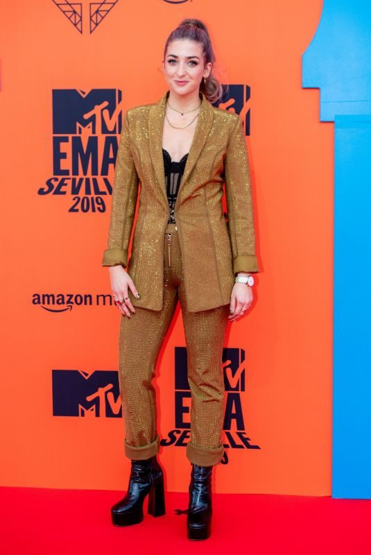 HARRIET ROSE at MTV Europe Music Awards in Seville 11/03/2019