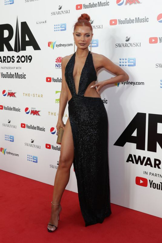HAVANA BROWN at Aria Awards 2019 in Sydney 11/27/2019