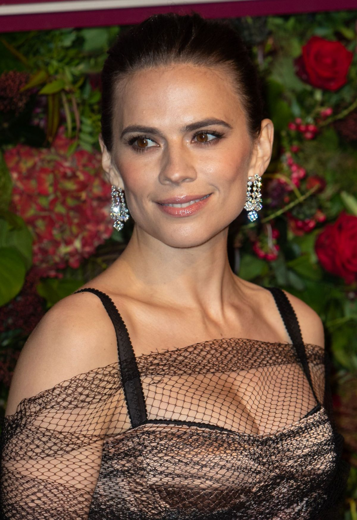 HAYLEY ATWELL at 65th Evening Standard Theatre Awards in
