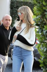 HEIDI KLUM Out and About in Los Angeles 11/21/2019