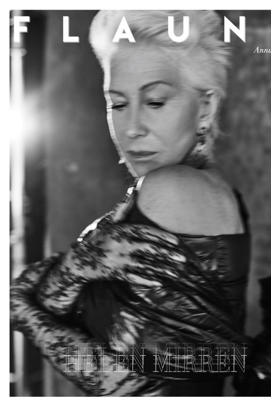 HELEN MIRREN for Flaunt Magazine, Digital Version November 2019