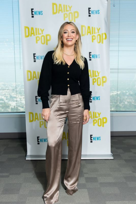 HILARY DUFF at Daily Pop in Universal City 11/12/2019