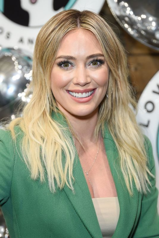 HILARY DUFF at Love Leo Rescue's 2nd Annual Cocktails for a Cause in Los Angeles 11/06/2019