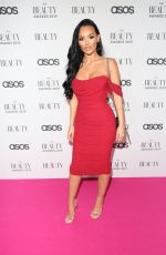 HOLLY BOON at Beauty Awards 2019 with Asos City Ccentral in London 11/25/2019