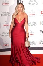 HOLLY HAGAN at Caudwell Children Float Like a Butterfly Ball in London 11/16/2019