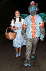 HOLLY WILLOGHBY Arrives at Jonathan Ross Halloween Party in London 10/31/2019