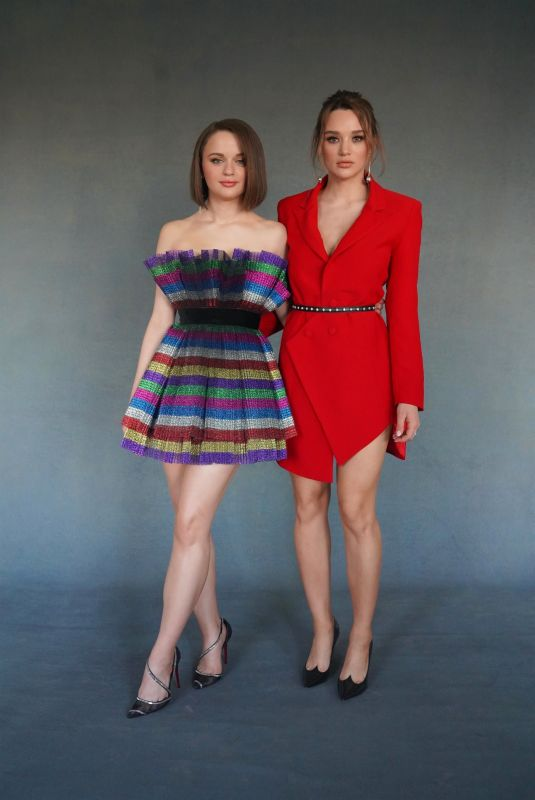 HUNTER HALEY and JOEY KING at a Photoshoot in Los Angeles, November 2019