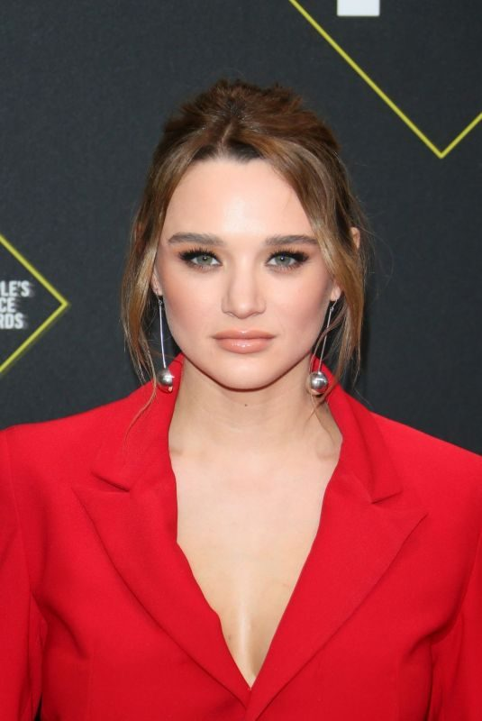 HUNTER HALEY KING at People's Choice Awards 2019 in Santa Monica 11/10/2019