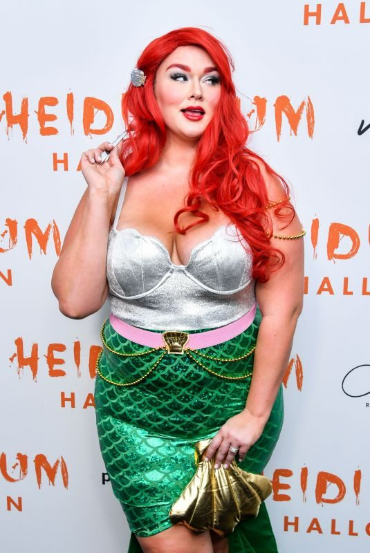 HUNTER MCGRADY at Heidi Klum's 20th Annual Halloween Party in New York 10/31/2019