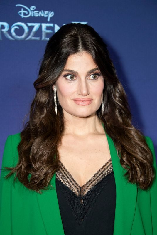 IDINA MENZE at Frozen 2 Photocall in Toronto 11/04/2019