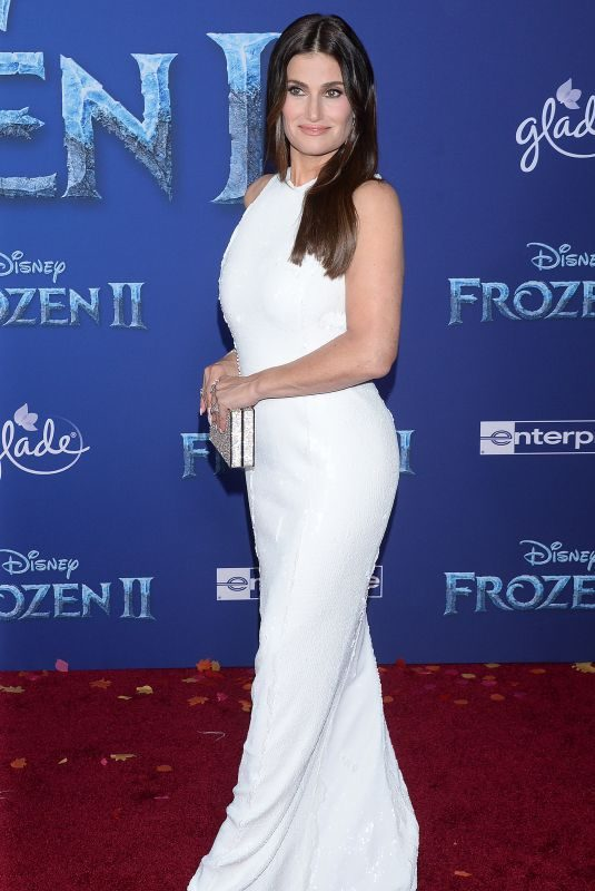 IDINA MENZE at Frozen 2 Premiere in Hollywood 11/07/2019