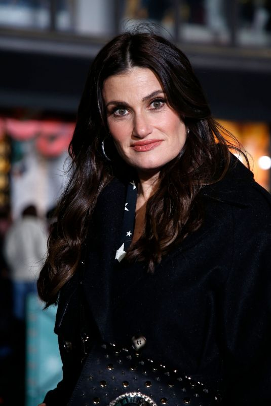 IDINA MENZEL at 93rd Annual Macy's Thanksgiving Day Parade Rehearsals in New York 11/26/2019