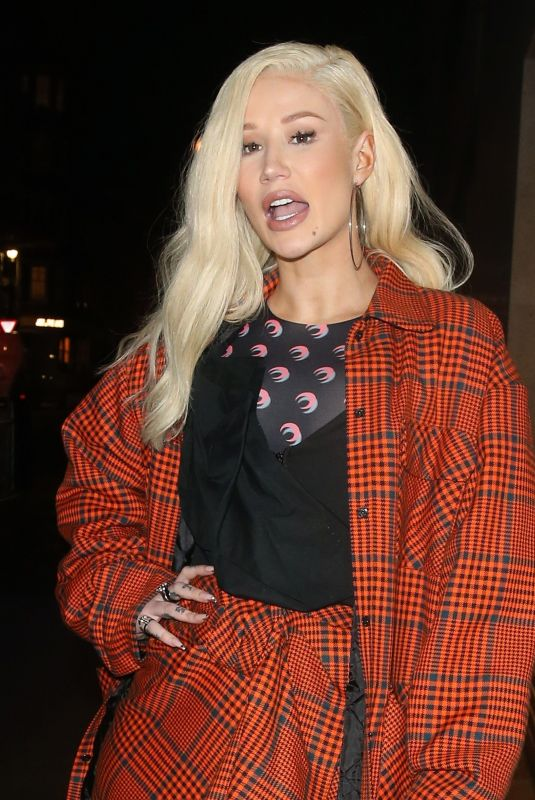 IGGY AZALEA Arrives at BBC Radio 1 in London 11/25/2019