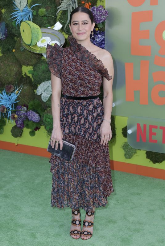 ILANA GLAZER at Green Eggs and Ham Premiere at Hollywood American Legion 11/03/2019