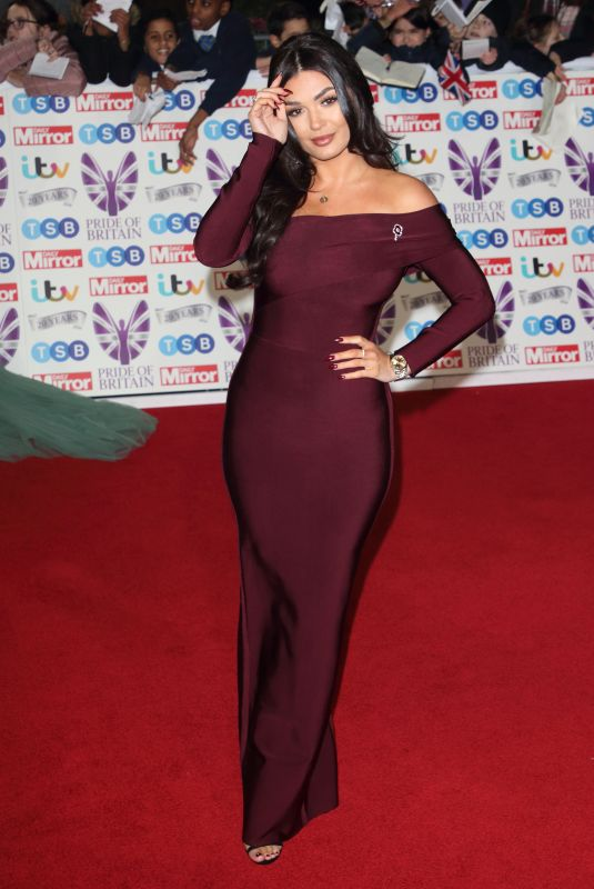 INDIA REYNOLDS at Pride of Britain 2019 Awards in London 10/28/2019