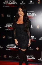 INDIA REYNOLDS at Rise of the Footsoldier 4: Marbella Premiere in London 11/01/2019