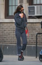 IRINA SHAYK Out and About in New York 11/20/2019