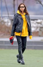 IRINA SHAYK Out and About in New York 11/27/2019