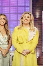 ISABELA MERCED and KIERNAN SHIPKA at Kelly Clarkson Show, November 2019