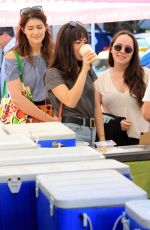 ISABELLE FUHRMAN Shopping at Farmers Market in Los Angeles 11/17/2019
