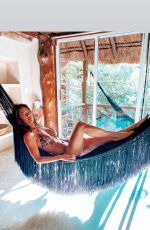 JACQUELINE MACINNES WOOD in Bikini in Mexico - Instagram Photos 11/24/2019