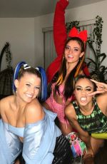 JADE CHYNOWETH at Halloween Party - Instagram Photos 10/31/2019