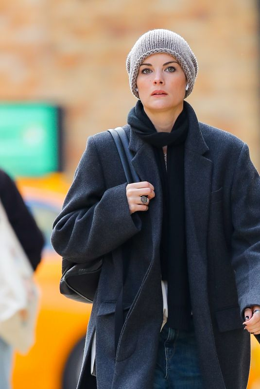 JAIMIE ALEXANDER Out and About in New York 11/19/2019
