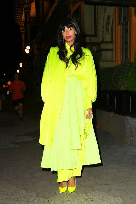 JAMEELA JAMIL Arrives at Cfda & Vogue Fashion Fund Awards in New York 11/04/2019