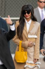 JAMEELA JAMIL Arrives at Jimmy Kimmel Live in Los Angeles 11/25/2019