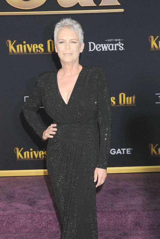 JAMIE LEE CURTIS at Knives Out Premiere in Westwood 11/14/2019