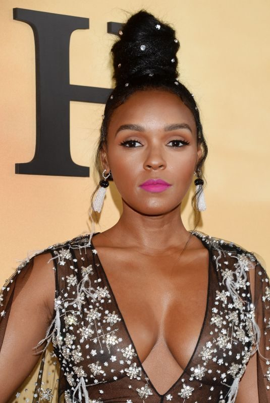 JANELLE MONAE at Harriet Premiere at Orpheum Theatre in Los Angeles 10/29/2019