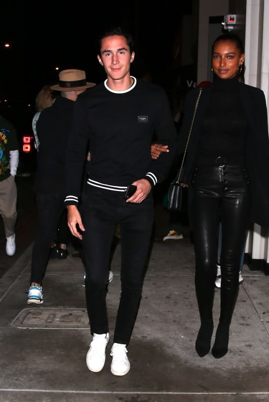 JASMINE TOOKES at Catch LA in West Hollywood 11/09/2019