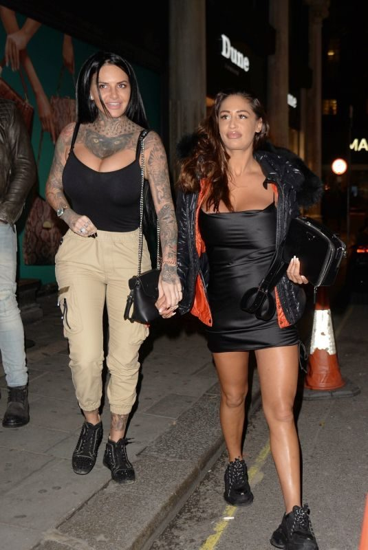 JEMMA LUCY and KAZ CROSSLEY at Anna Vakili x Primalash Launch Party in London 11/06/2019