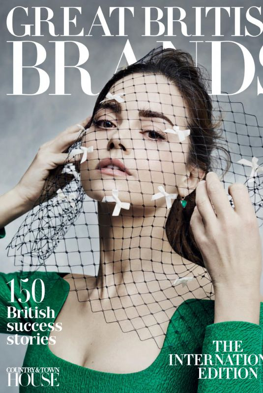 JENNA LOUISE COLEMAN in Great British Brands Magazine, 2019 Issue