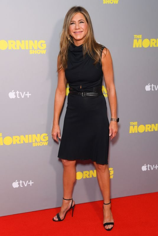 JENNIFER ANISTON at The Morning Show Screening in London 11/01/2019
