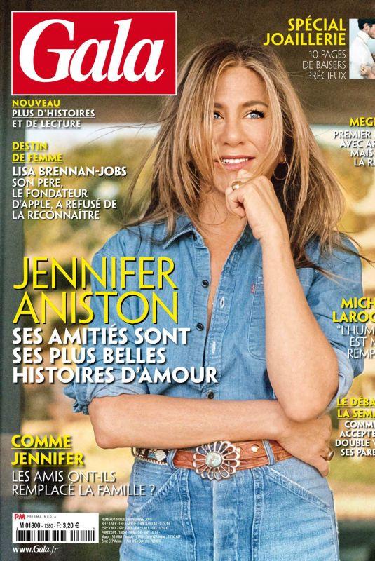 JENNIFER ANISTON in Gala Magazine, France November 2019
