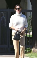 JENNIFER GARNER Leaves Mass the Sunday Before Thanksgiving in Los Angeles 11/24/2019