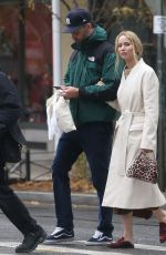 JENNIFER LAWRENCE and Cooke Maroney Out in New York 11/18/2019