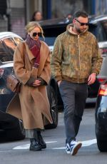 JENNIFER LAWRENCE and Cooke Maroney Out in New York 11/25/2019