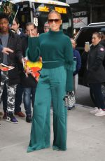 JENNIFER LOPEZ Out and About in New York 11/11/2019