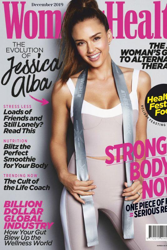 JESSICA ALBA in Women's Health Magazine, South Africa December 2019